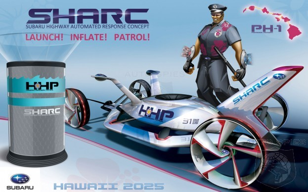 Subaru's SHARC Wins Highway Patrol Vehicle 2025 Competition at L.A. Auto Show