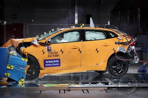Volvo V40 Euro NCAP Crash Test Result - Safest Model in the Segment