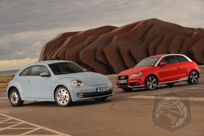 VW Beetle vs Audi A1