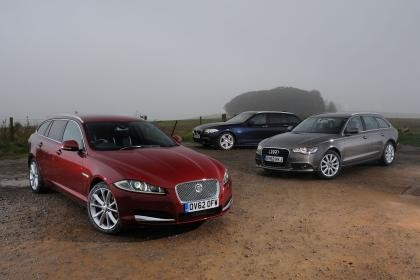 Jaguar XF Sportbrake vs BMW, and Audi Rivals