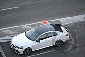 Refreshed 2014 Mercedes E-class/E63 AMG Spotted Undisguised in Madrid, Looks Good