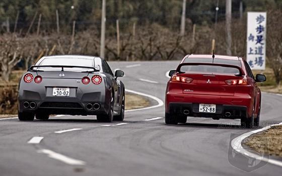 Top Gear Nissan Gt R Vs Evo X Autospies Auto News