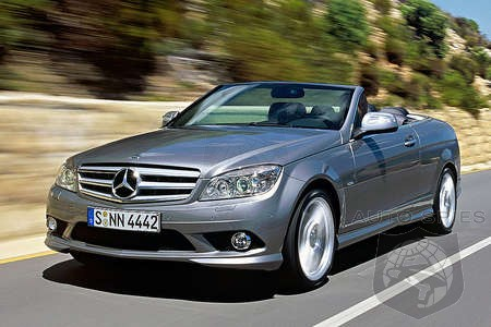 Preview: 2009 Mercedes CLK Convertible