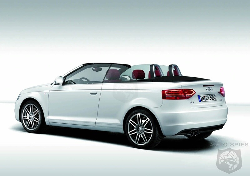 Audi A3 Convertible Uk Pricing Announced