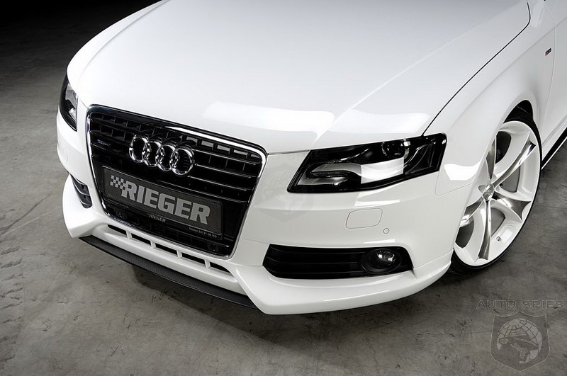 Tuning Audi A4 By Rieger Tuning Autospies Auto News