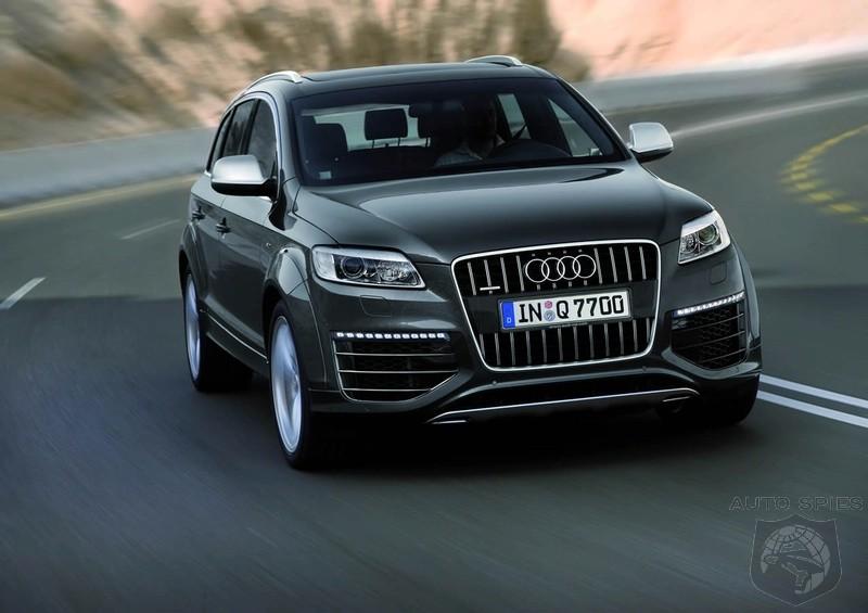 Audi Q7 V12 TDI breaks cover - AutoSpies Auto News