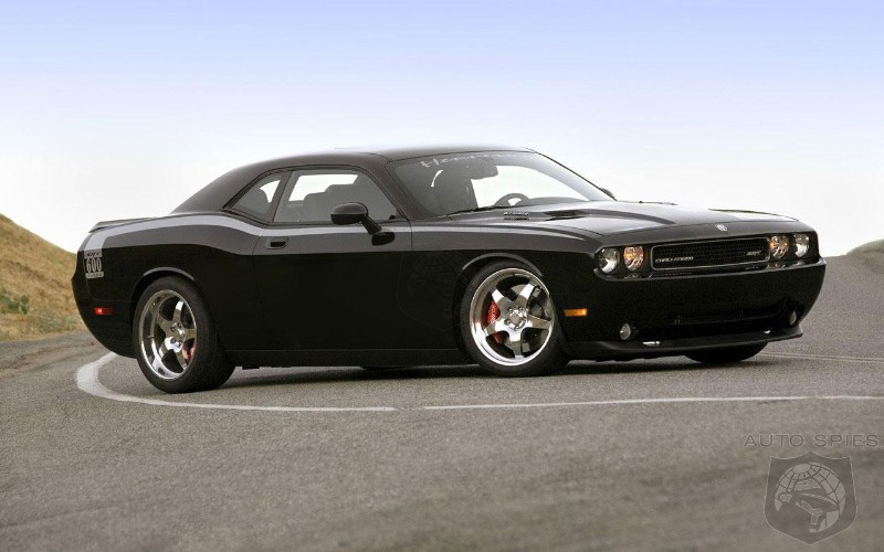 Dodge Challenger 2010 Black. Tuning: Dodge Challenger by