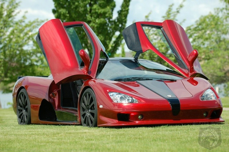 SSC Ultimate Aero EV