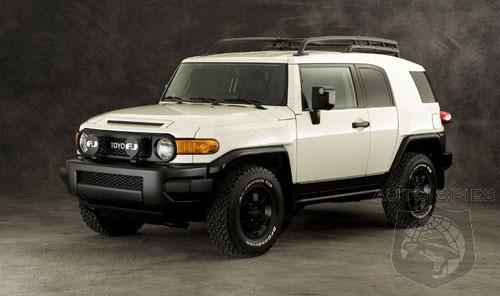 Toyota Fj Cruiser Trails Team Edition Unveiled Autospies