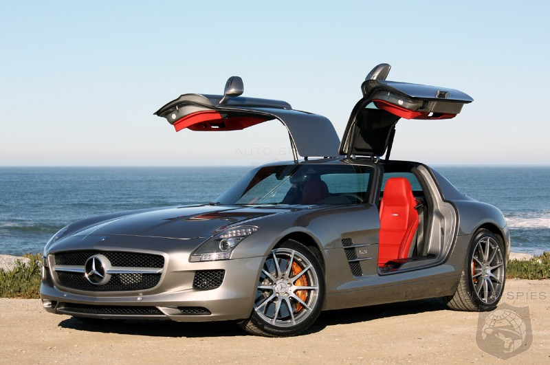 First Drive: 2011 Mercedes-Benz SLS AMG straightens up and flies right