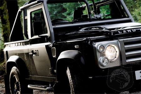 Land Rover 110 Hardtop. Today Land Rover released more