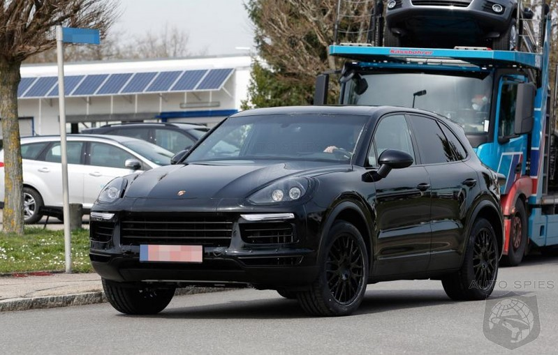 2018 Porsche Cayenne First Spy Photos Of 3rd Generation The Newest Is Full Redesigned