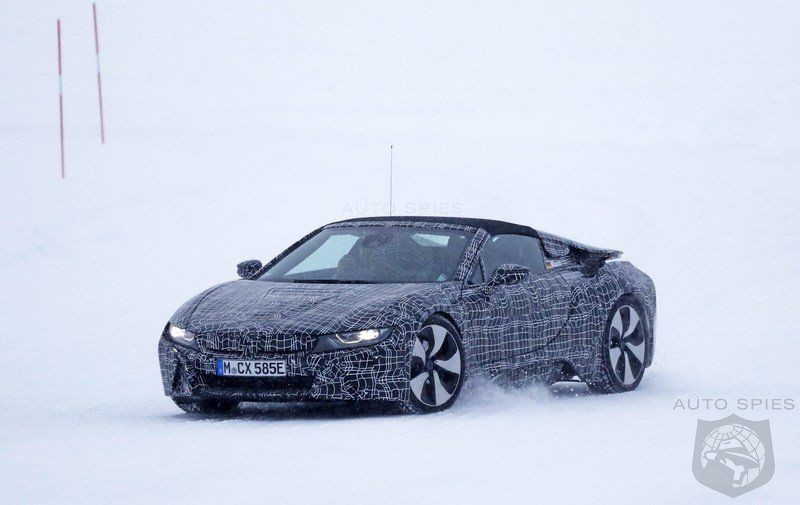 2018 BMW i8 Spyder - The German automaker prepares to launch an-all new model without roof