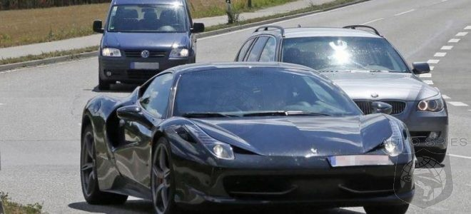 2018 Ferrari Dino First Pictures And Information About This Car Will Be Launch In Early