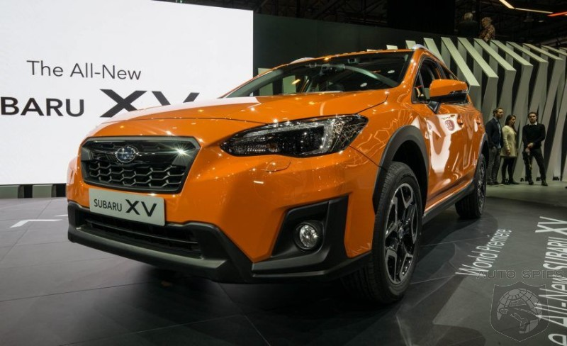 2018 Subaru XV - Subaru company unveils an all-new edition to America as a Crosstreck