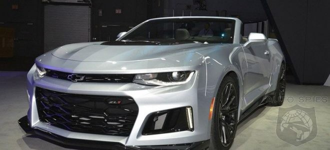 2018 Chevrolet Camaro Zl1 Convertible One More Muscle Car Great Performance