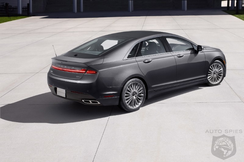 Lincoln MKZ Revealed, Stays True To Detroit Concept