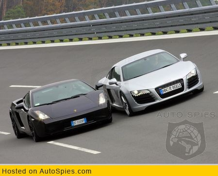 Comparison Audi R8 Vs Lamborghini Gallardo Excellent Photo