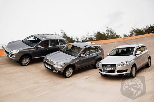 Audi Q7 vs. BMW X5 vs. Porsche Cayenne S The Winner is...