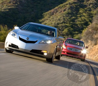 Comparison Test 2009 Acura Tl Sh Awd Vs 2009 Infiniti G37 Journey