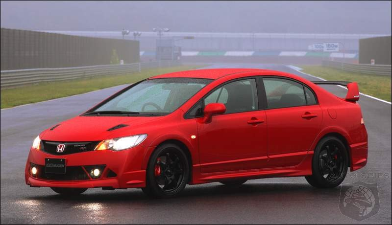 2008 honda civic type rr the most powerful civic gets 240hp autospies auto news. Black Bedroom Furniture Sets. Home Design Ideas