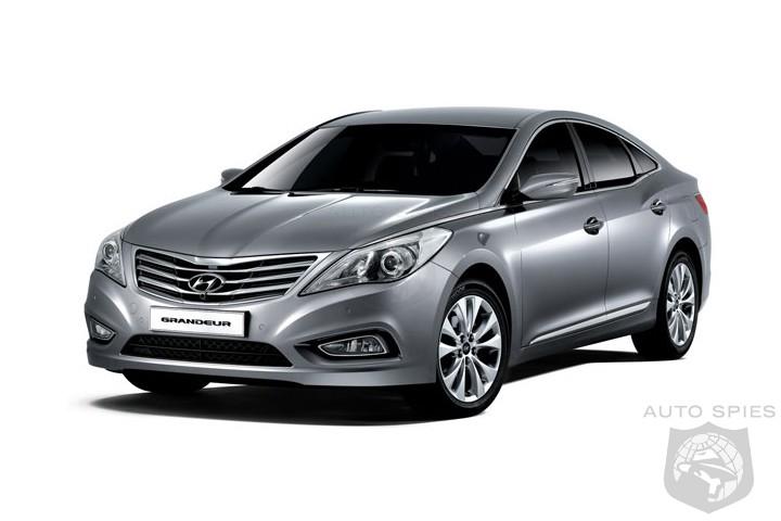 New Hyundai Azera 2012. 2012 Hyundai Azera: First