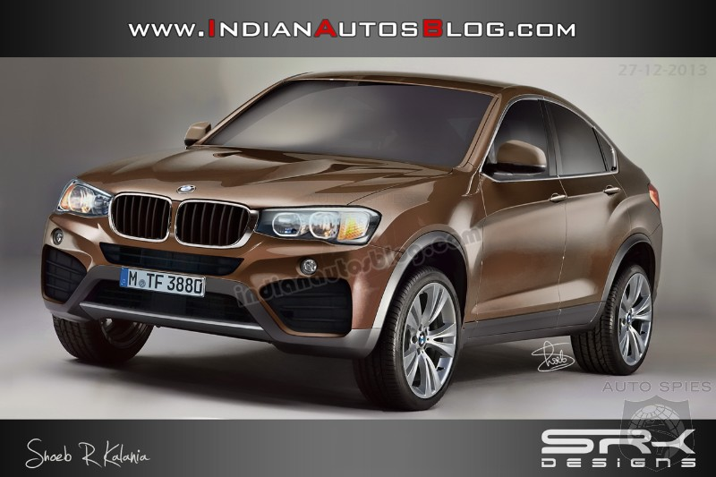Production Bmw X4 Accurately Rendered Autospies Auto News