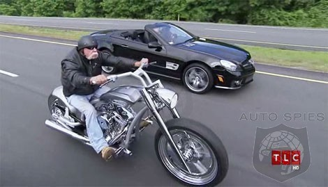 Occ orange county choppers builds a amg theme motorcycle for Orange county mercedes benz