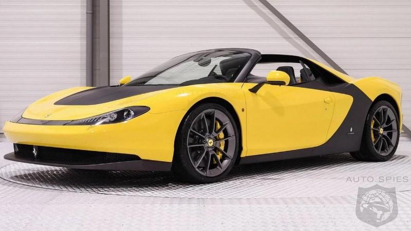 Ferrari Sergio up for sale in the Netherlands