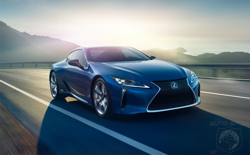 Butterfly-inspired iridescent Structural Blue paint appears first on Lexus LC 500