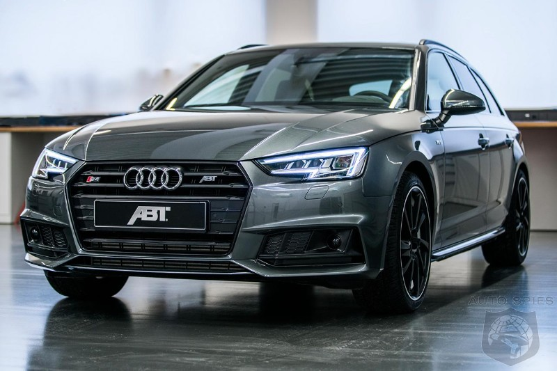 ABT Audi S Avant Is Hungry For Power AutoSpies Auto News - Audi s4 avant