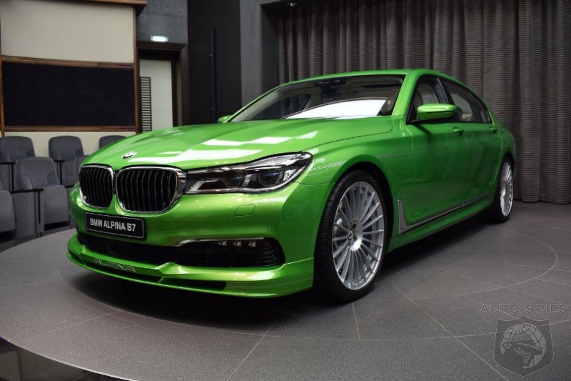 Java Green BMW Alpina B Is An Unexpected Choice AutoSpies Auto News - Bmw alpina price range