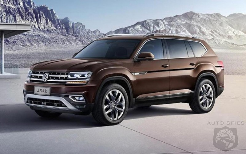 New Volkswagen Teramont Is China S Atlas Suv Autospies