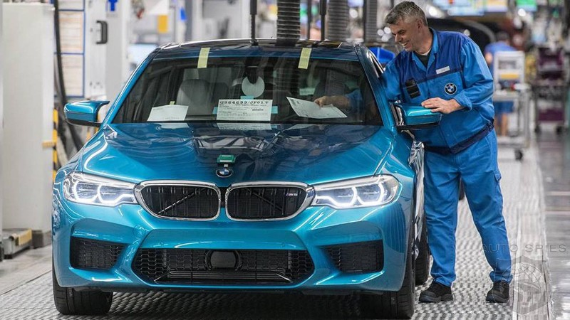 BMW starts production of new M5 (F90) at its Dingolfing, Bavaria plant