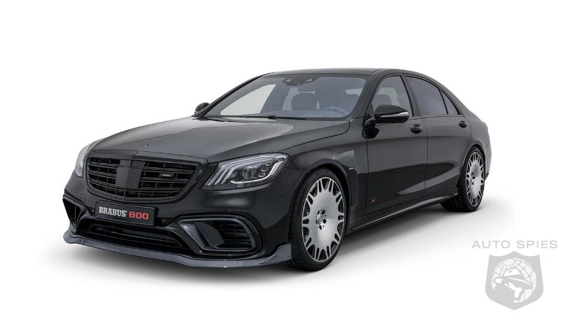 Brabus transforms Mercedes-AMG S 63 into menacing 800 Sedan and Coupe