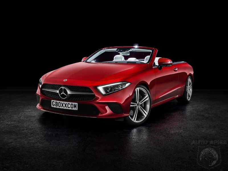 2019 Mercedes Benz Cls Rendered As A Coupe Cabriolet And In Amg