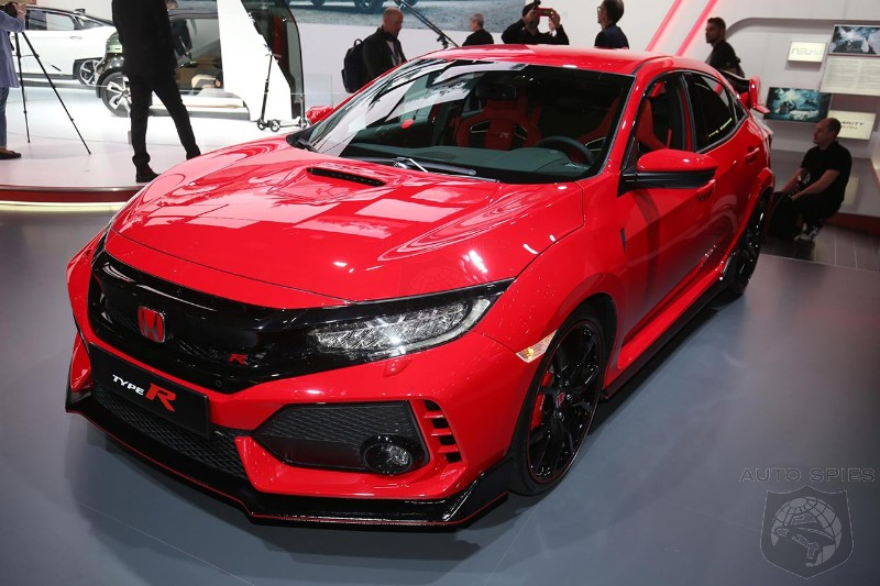 Leaked documents list an entry level 2018 Honda Civic Type R