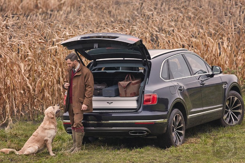 Bentley Bentayga Field Sports Edition by Mulliner is the most luxurious hunting car out there