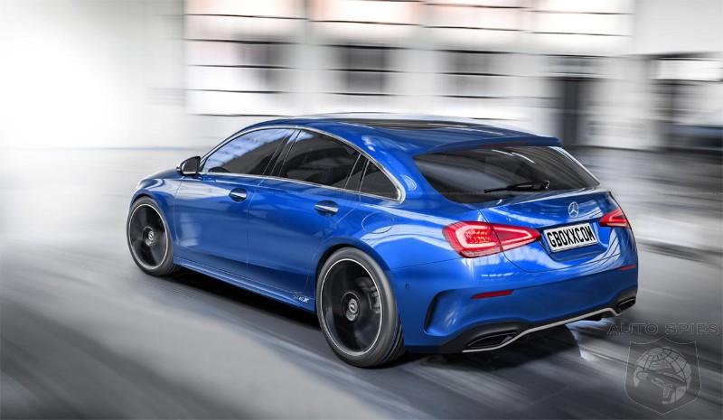 Mercedes Cla Shooting Brake 2019 >> Artist creates Shooting Brake version of 2019 Mercedes-Benz A-Class - AutoSpies Auto News