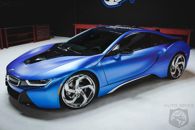 Check out BMW i3 and i8 pimped by West Coast Customs