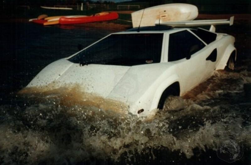 This Z1a Lamborghini Countach Replica Is Amphibious Autospies Auto