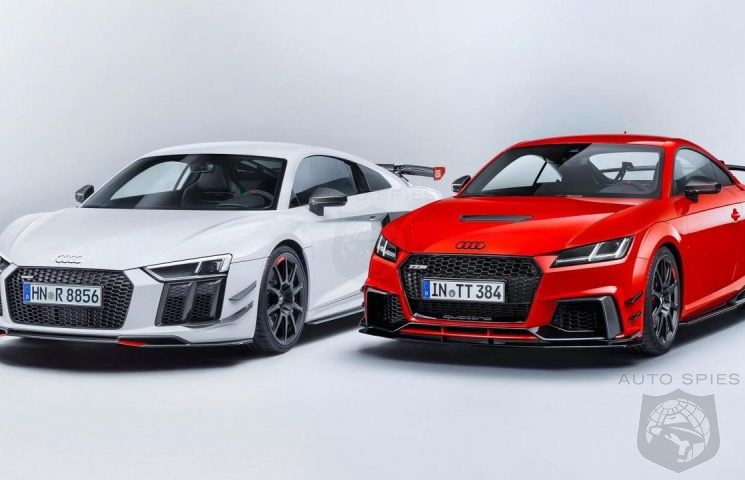 The Audi Sport Performance Parts – New dynamics for Audi R8 and Audi TT