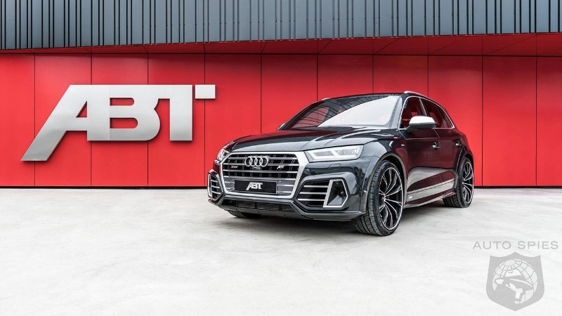 2018 Audi SQ5 has been lowered by ABT Sportsline to make it look like a hatchback