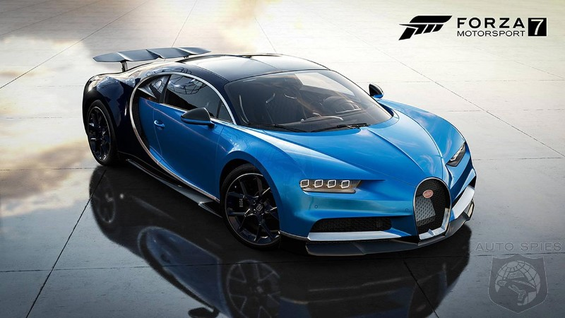 Dell Gaming Car pack brings Bugatti Chiron to Forza Motorsport 7
