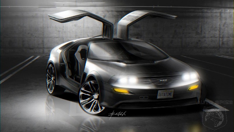 designer dreams up a modern delorean sports car - autospies auto news
