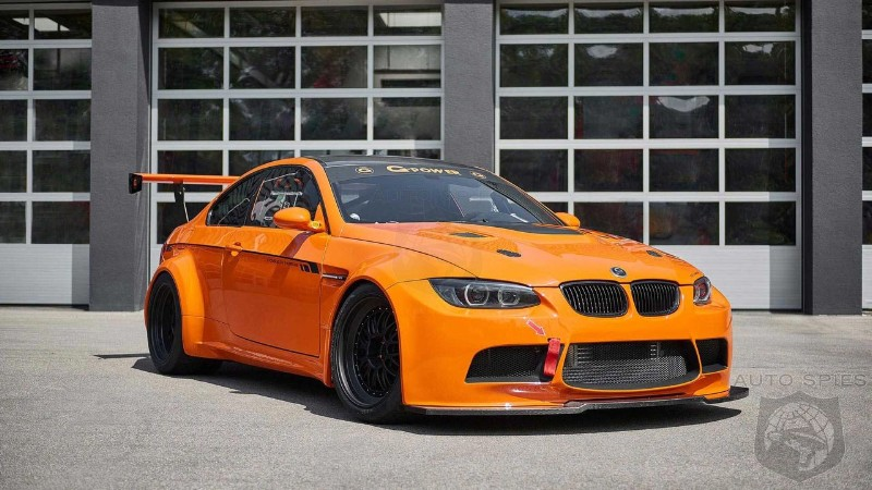 Widebody BMW M3 With Supercharged 4 5-liter V8 Packs 709 HP