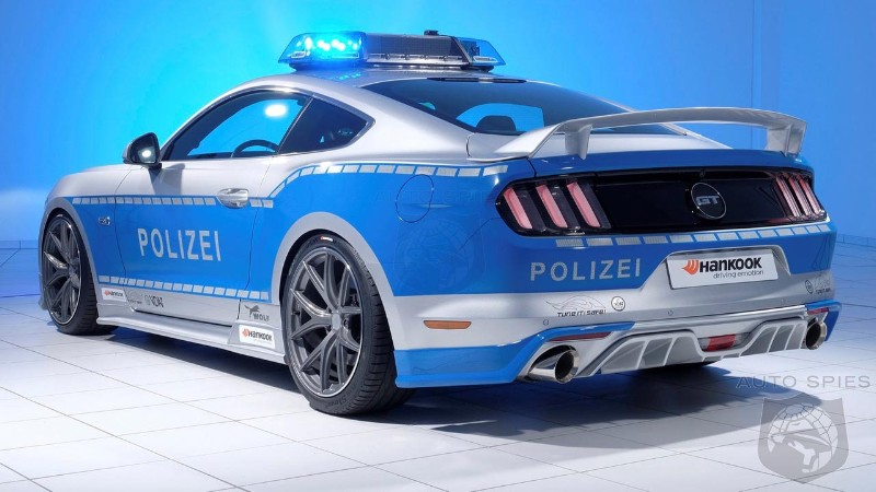 Ford Mustang Gt Becomes A Police Car