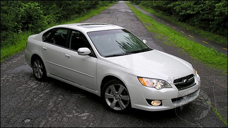 2009 Subaru Legacy 3.0R Premier Package Review