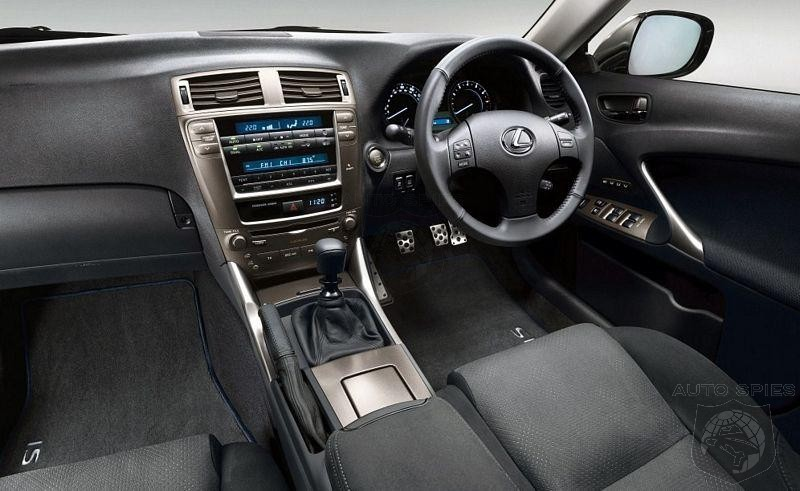 Charming New Lexus IS 250 SR Turns On The Heat For Summer