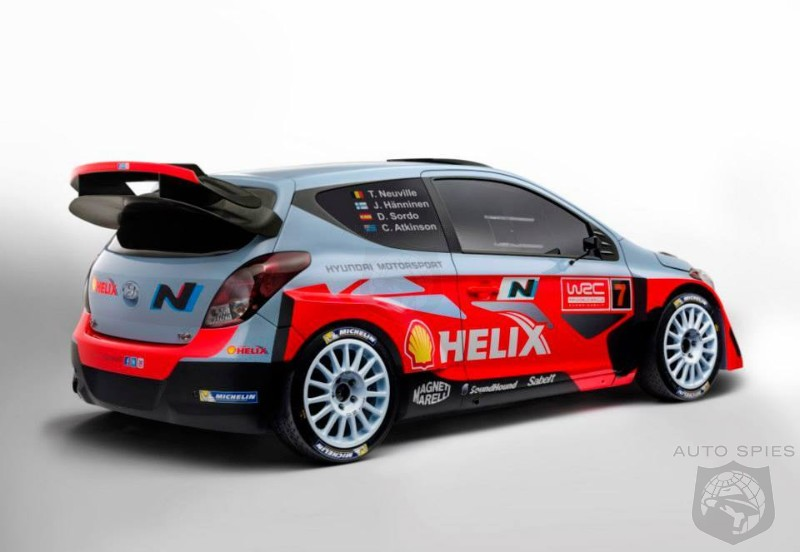 Hyundai Launches 2014 I20 Wrc Car Autospies Auto News